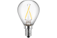 LED Filament Tropfenform 230V 2W E14
