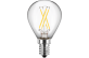 LED Filament Tropfenform 230V 4W E14